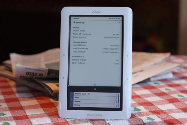 barnes and noble nook le gana al kindle de amazon